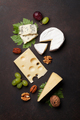 Cheese, grapes and nuts - PhotoDune Item for Sale