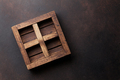 Old wooden box - PhotoDune Item for Sale