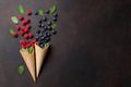 Ice cream with berries - PhotoDune Item for Sale