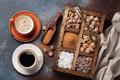 Various brown and white sugar - PhotoDune Item for Sale