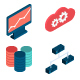 Internet Security & Data Analysis Icons - GraphicRiver Item for Sale