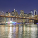 Brooklyn Bridge and Manhattan skyline at night, NYC. - PhotoDune Item for Sale