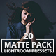 20 Matte Pack Lightroom Presets - GraphicRiver Item for Sale