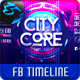 City Core FB Timeline Cover-Graphicriver中文最全的素材分享平台