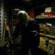 Zombie Stuck In Tool Closet Glaring At Camera - VideoHive Item for Sale