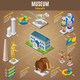 Isometric Museum Infographic Template - GraphicRiver Item for Sale