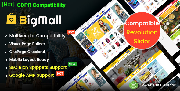 BigMall - Multipurpose OpenCart 3 Theme with Mobile-Specific Layouts - OpenCart eCommerce