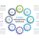 Infographic Template with Gears - GraphicRiver Item for Sale