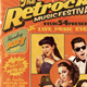 Retro Festival (Magazine) Flyer - GraphicRiver Item for Sale