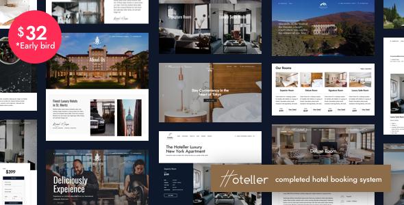Image of Hoteller | Hotel Booking WordPress