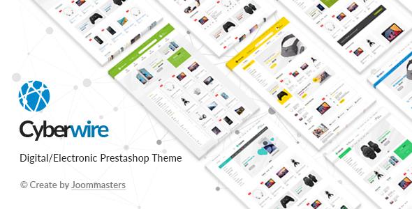 CyberWire - Premium Prestashop Theme - Shopping PrestaShop