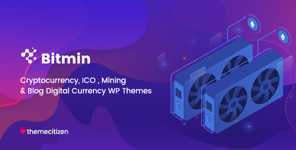 Image of BitMin - ICO & Cryptocurrency WP Theme