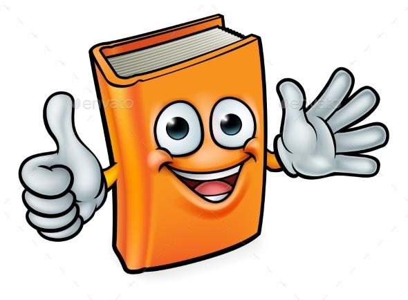 Cartoon Book Character - Miscellaneous Vectors
