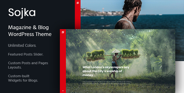 Sojka - Magazine & Personal Blog WordPress Theme