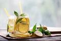 Cold lemonade with lemon wedges - PhotoDune Item for Sale
