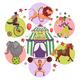 Flat Circus Round Concept