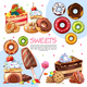 Cartoon Sweet Products - GraphicRiver Item for Sale