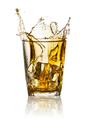 Splash in glass of whiskey - PhotoDune Item for Sale