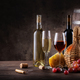 Wine still life on a wooden table - PhotoDune Item for Sale