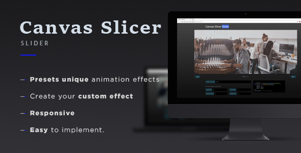 Canvas Slicer Slider            Nulled