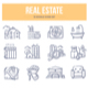 Real Estate Doodle Icons - GraphicRiver Item for Sale
