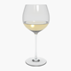 Glass Riedel Superleggero Oaked Chardonnay With Wine