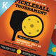 Pickleball Tournament Flyer Templates - GraphicRiver Item for Sale