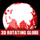 3D Earth Globe - full HD (1920x1080), looped  - VideoHive Item for Sale