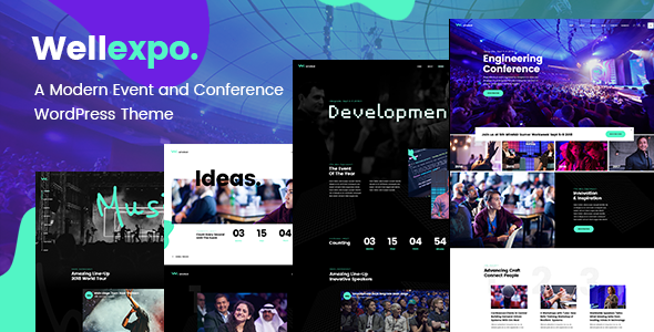 WellExpo - A Modern Event and Conference WordPress Theme - Events Entertainment