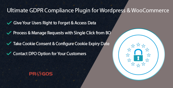 Ultimate GDPR Compliance Plugin for Wordpress & WooCommerce (WooCommerce)