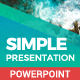 Simple Presentation - GraphicRiver Item for Sale