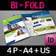 Travel Guide Bi-Fold Brochure Template - GraphicRiver Item for Sale