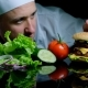 Chef Finishing the Savory Burger with Beef, Cheese and Vegetables - VideoHive Item for Sale