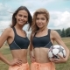 Members Of Female High School Soccer Team - VideoHive Item for Sale