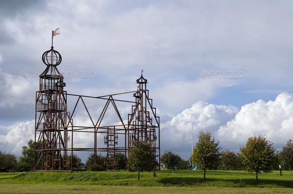 Steel replica Uniastate - Stock Photo - Images