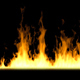 Wall of Fire 4k - VideoHive Item for Sale