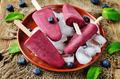 Blueberry banana ice cream - PhotoDune Item for Sale