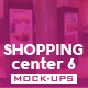 Shopping Center Vol.6 Mock-Ups Pack - GraphicRiver Item for Sale
