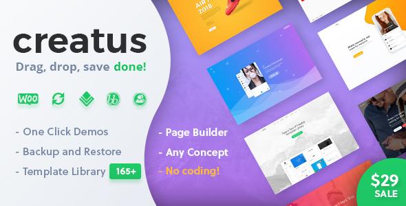Image of Creatus – Ultimate Multipurpose WordPress Theme
