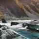 Raging Mountain River. Wildness of Clean, Clear Water in the Mountain River - VideoHive Item for Sale