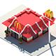 Low Poly McDonald's Restaurant