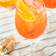 Alcoholic Aperol Spritz with Champagne - PhotoDune Item for Sale
