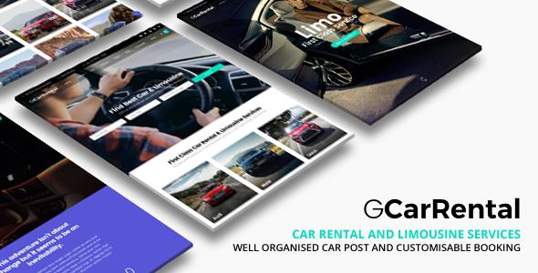 Grand Car Rental | Limousine Car Rental WordPress - Business Corporate