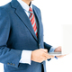 Businessman in suit holding a laptop_-2 - PhotoDune Item for Sale