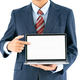 Businessman in suit holding a laptop_-6 - PhotoDune Item for Sale