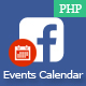 Facebook Events Calendar - CodeCanyon Item for Sale