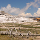 Hot Water Steam and Minerals Blow Out of a Yellowstone Geyser - PhotoDune Item for Sale