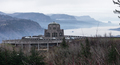 Crown Point Scenic Corridor Vista House and the Columbia River Gorge - PhotoDune Item for Sale
