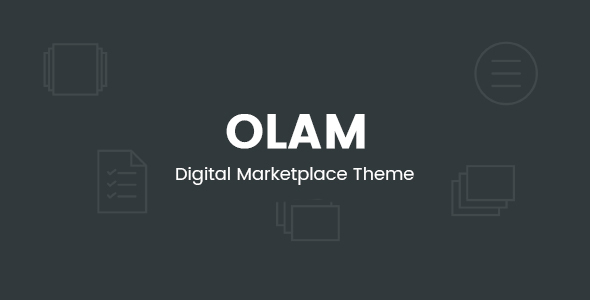 Olam - WordPress Easy Digital Downloads Theme, Digital Marketplace, Bookings