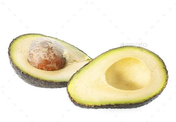 avocado in studio - Stock Photo - Images